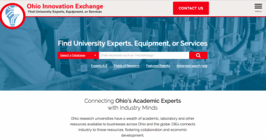 New Online Platform Drives Innovation by Connecting Ohio's Research Universities with Industry 1