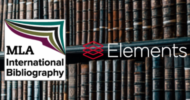 Modern Language Association International Bibliography now available as a data source within Elements