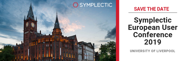 Symplectic European User Conference 2019 1