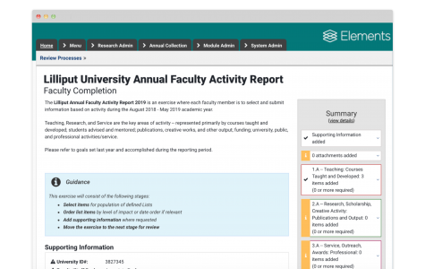 Faculty Activity Reporting 32