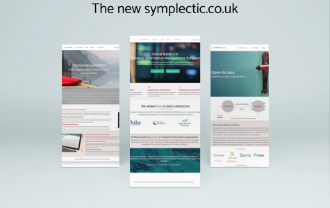 A refresh for Symplectic.co.uk 1