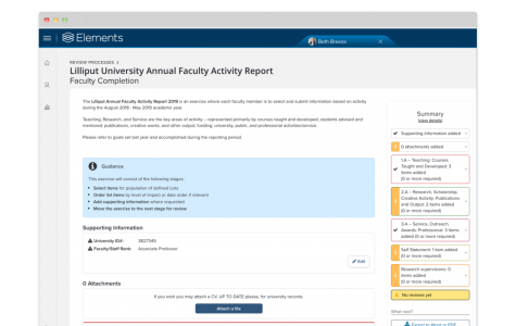 Faculty Activity Reporting 36