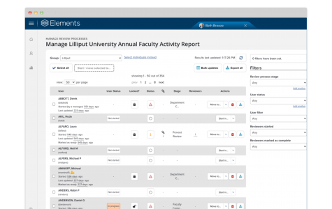 Faculty Activity Reporting 37