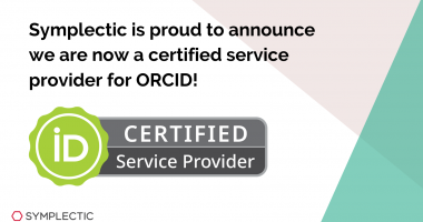 Symplectic Elements now an ORCID Certified Service Provider 3
