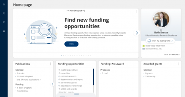 Symplectic unveils Research Funding Solution to support and manage institutional research funding activities